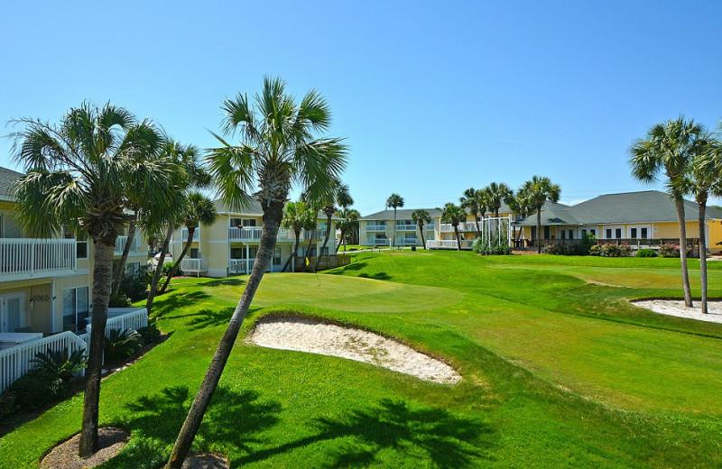 Golf course at Sandpiper Cove.