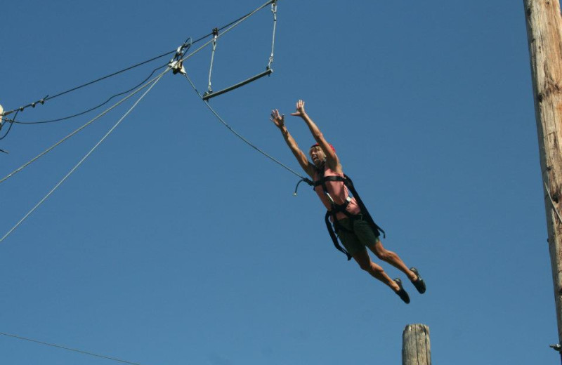 Ropes Course at Wonder Valley Ranch Resort