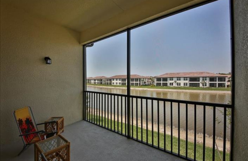 Rental balcony at Phase III Real Estate.