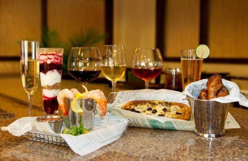 Dining at Hampton Inn & Suites Jekyll Island.
