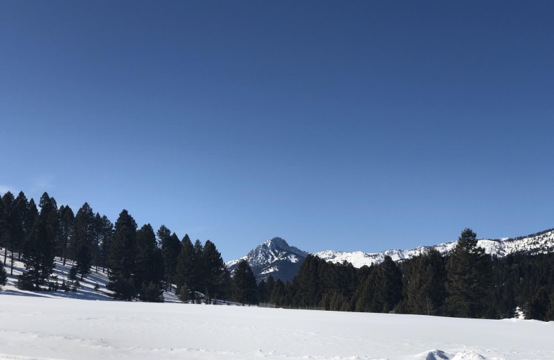 Winter at Hardscrabble Ranch.