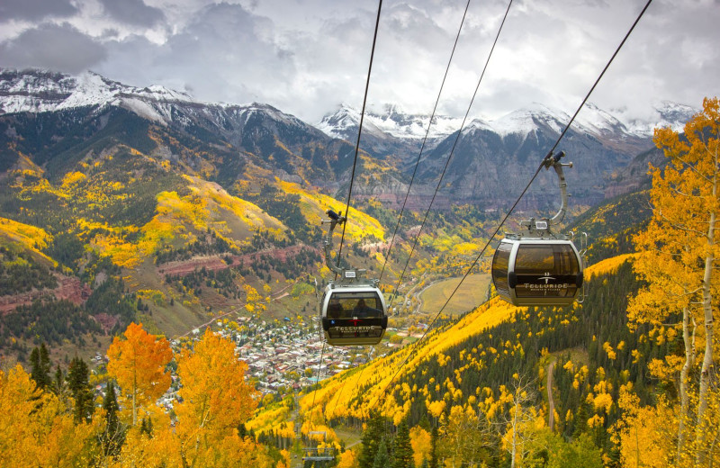 Gondola at Welcome to Telluride Vacation Rentals.