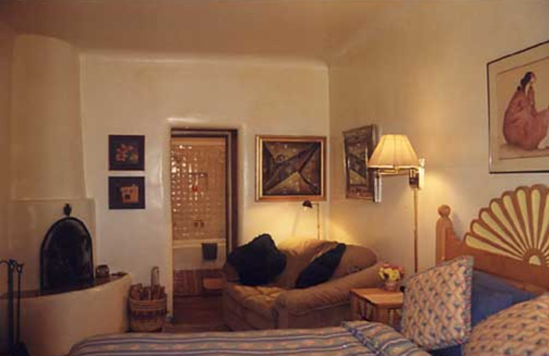 Sunburst Room at Inn on La Loma Plaza.