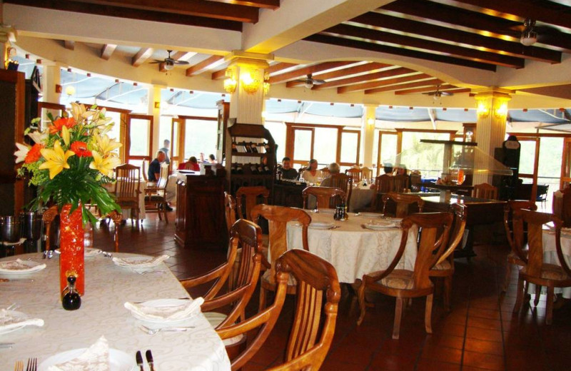 Dining at Martino Resort & Spa.
