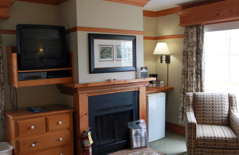 Guest room at Fern Resort.
