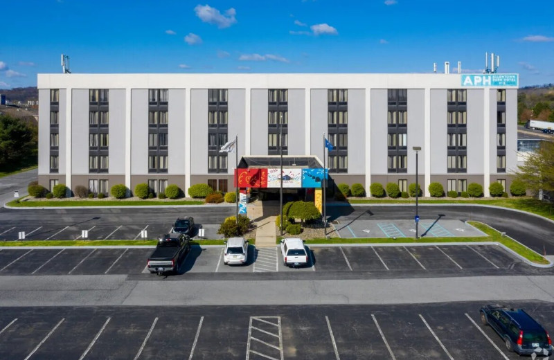 Exterior view of Allentown Park Hotel Ascend Collection by Choice Hotels.