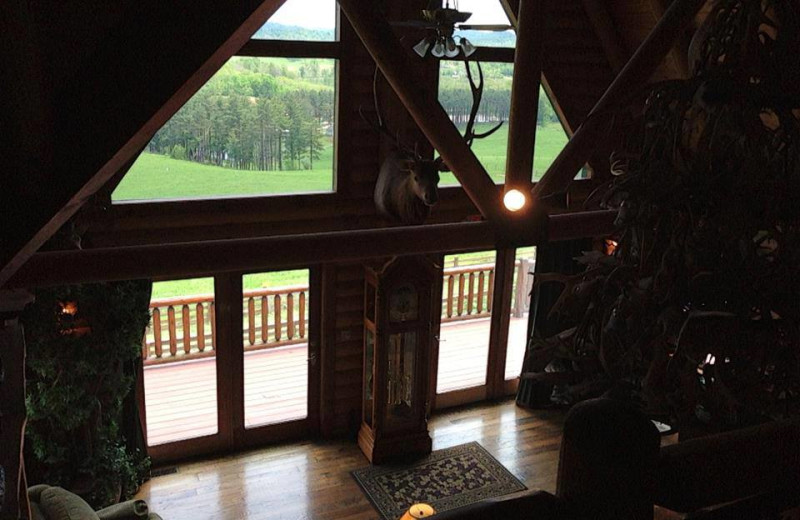 Interior view of Pine Lakes Lodge.