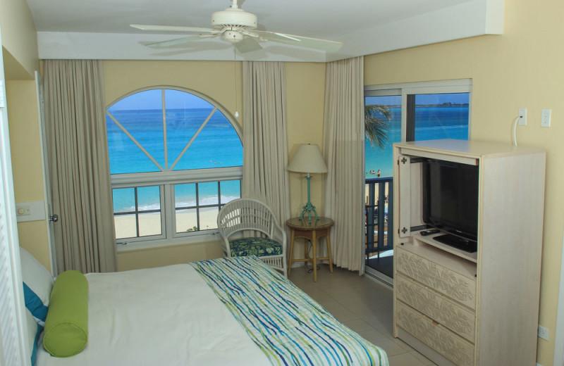 Guest room at Paradise Island Beach Club.