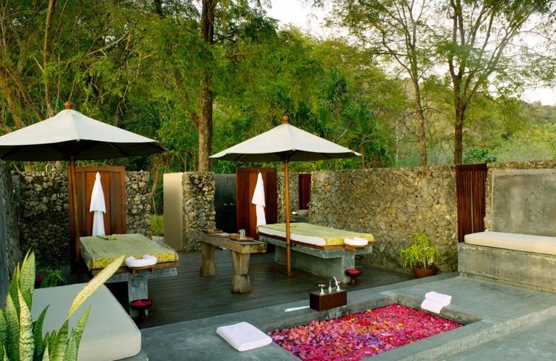 Spa at Amanwana.