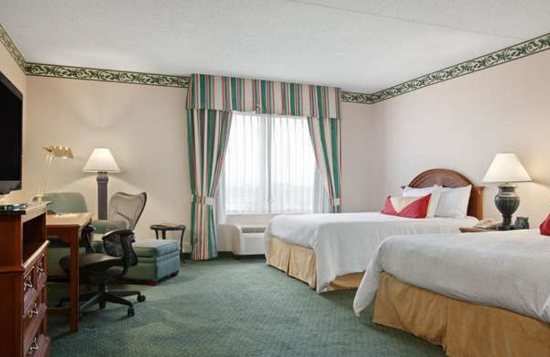 Guest Room at the Hilton Garden Inn Wilkes-Barre