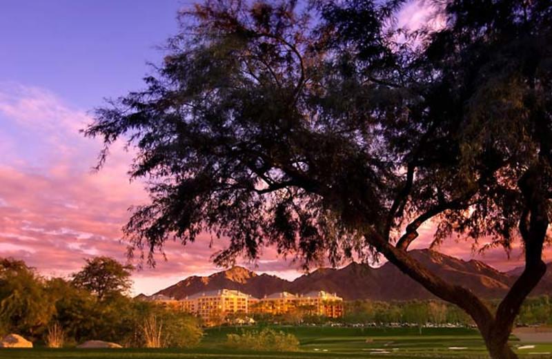 Exterior view of Renaissance Esmeralda Resort.