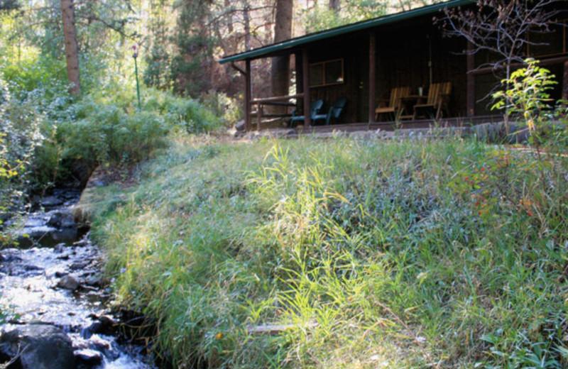 Creek-Side Cabin at Bill Cody Ranch