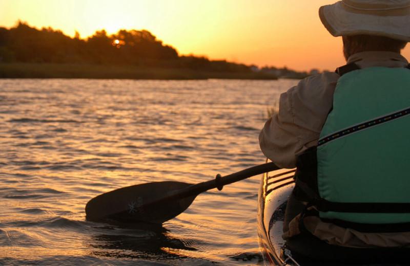 Fishing at Sanctuary Vacation Rentals at Sandbridge.