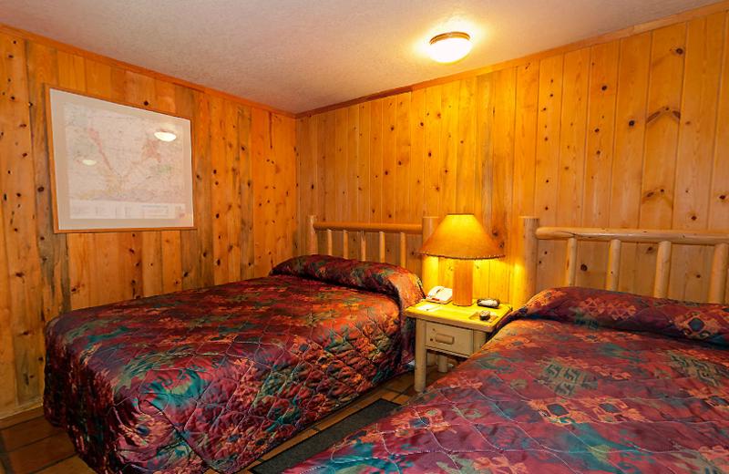 Guest bedroom at Redstone Inn.