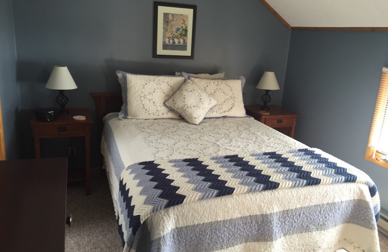 Guest room at Island View B & B.