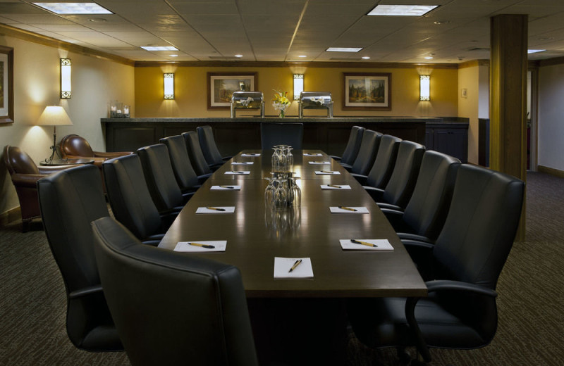 Meeting room at The Charter at Beaver Creek.