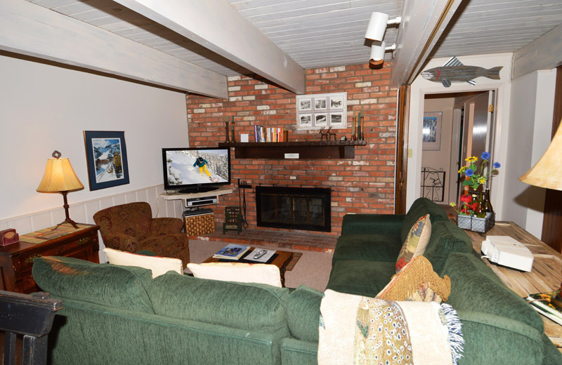Rental living room at Frias Properties of Aspen - Chateau Dumont #2.