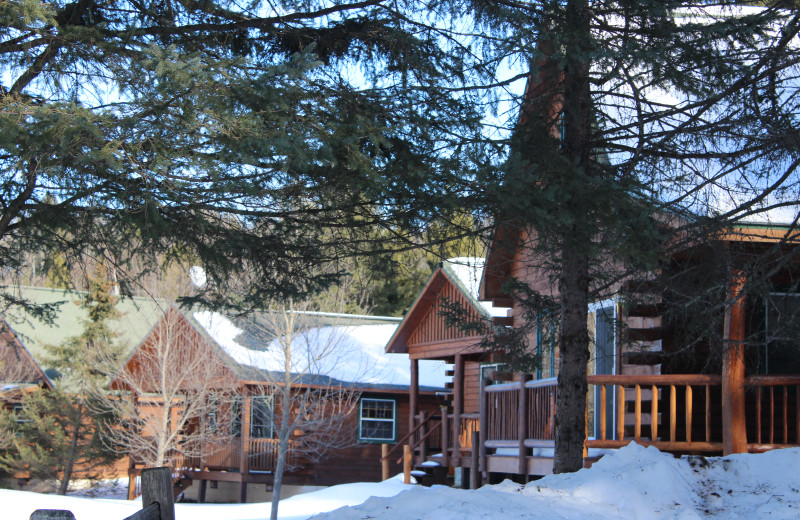 Winter at Wilderness Bay Lodge and Resort