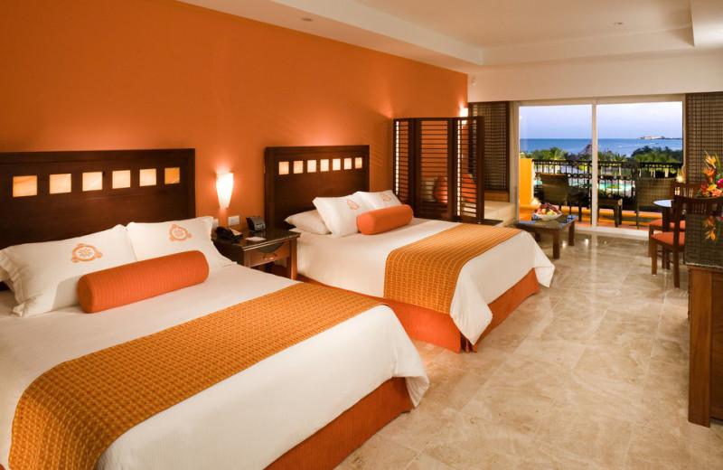 Guest room at Hacienda Tres Rios.