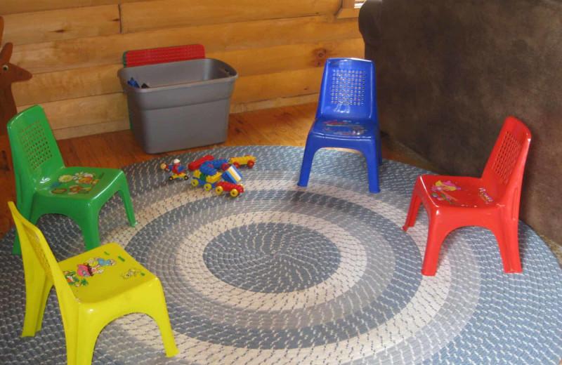 Kids area at Little Norway Resort.