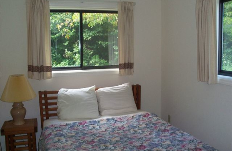 Rental bedroom at Sugar Ski and Country Club.