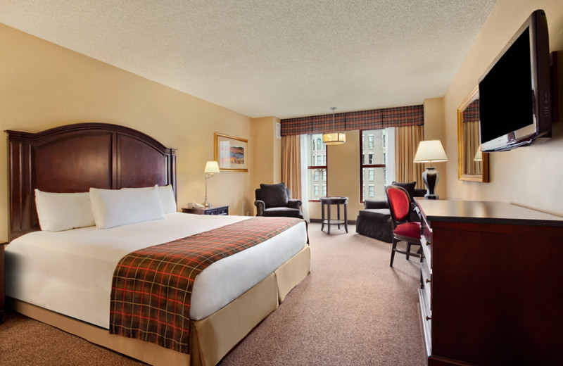 Guest room at Sam's Town Hotel and Gambling Hall.