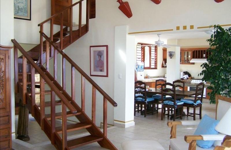 Kitchen at Casa Caribe.