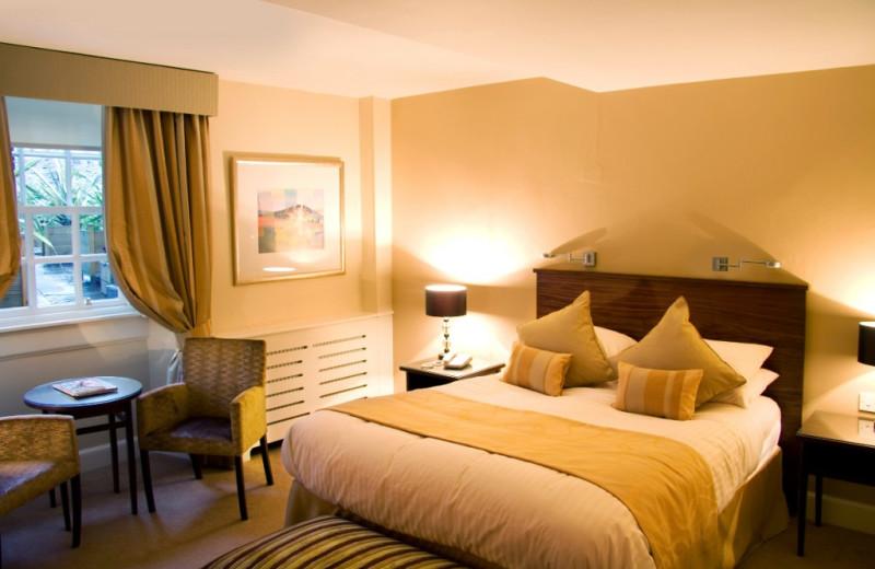 Guest room at Royal Scots Club.