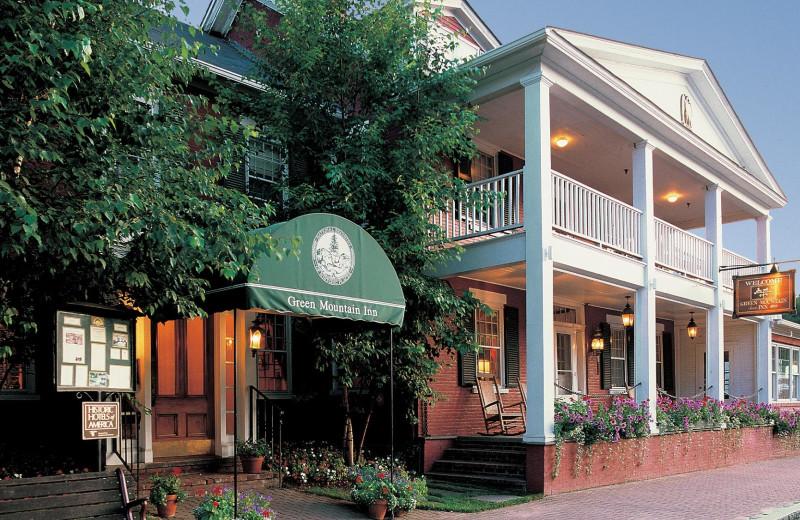 Exterior view of The Green Mountain Inn.