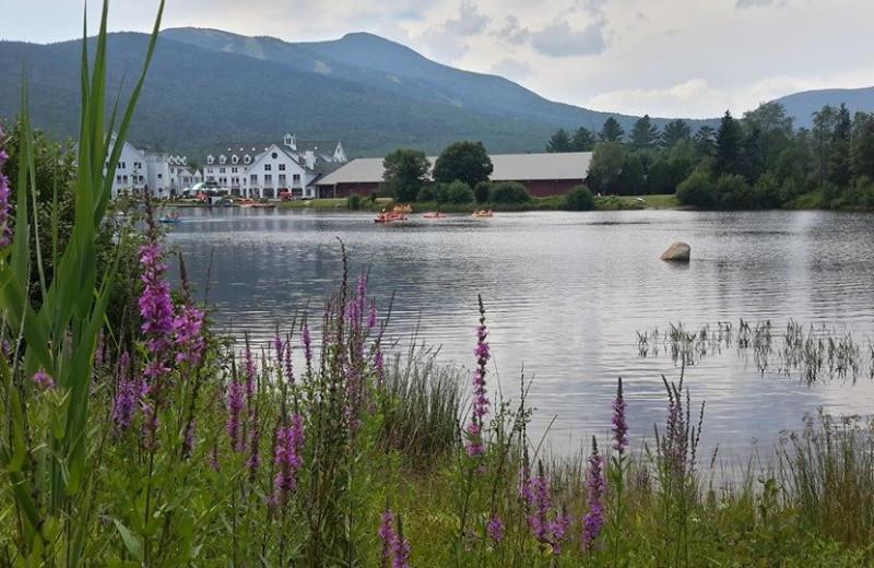 Lake near Black Bear Lodge.