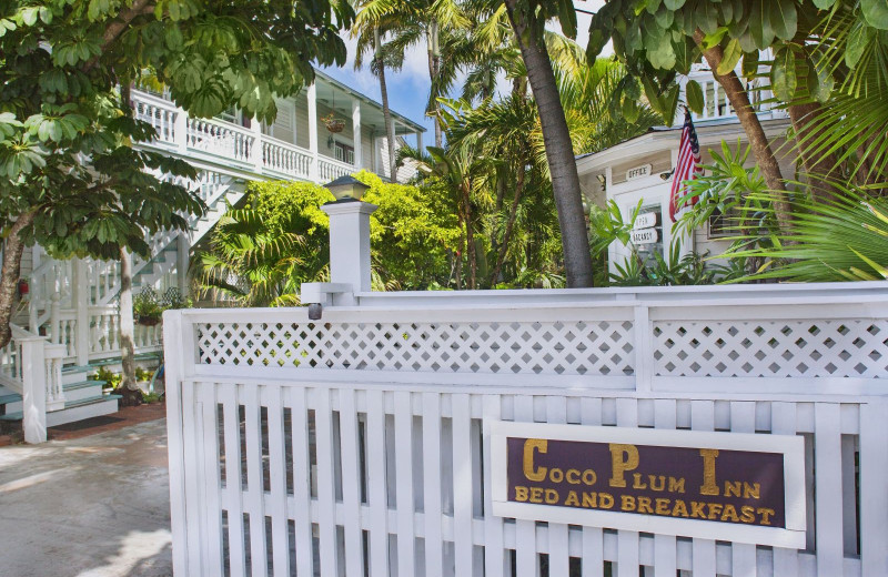 Exterior view of Coco Plum Inn.
