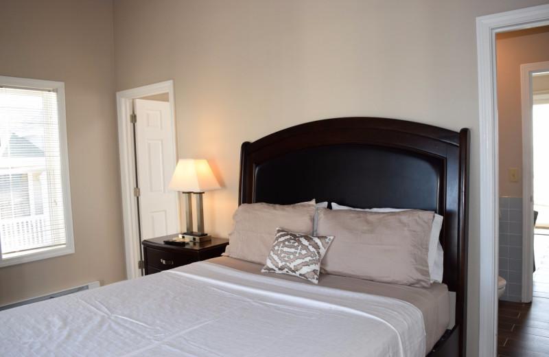Guest room at Ocean Walk Hotel.