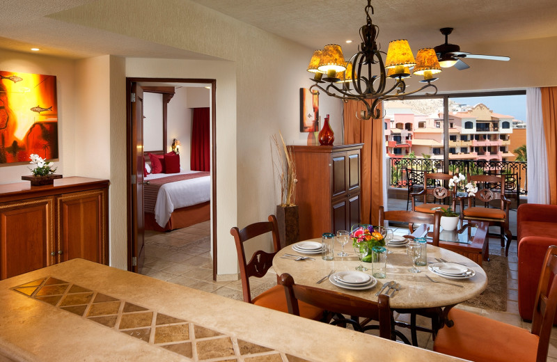 Guest suite at Playa Grande Resort.