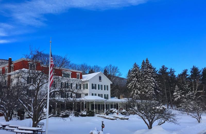 Winter at Winter Clove Inn.