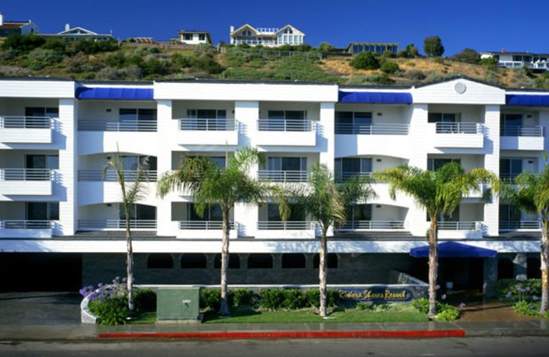 Exterior view of Riviera Shores Resort.
