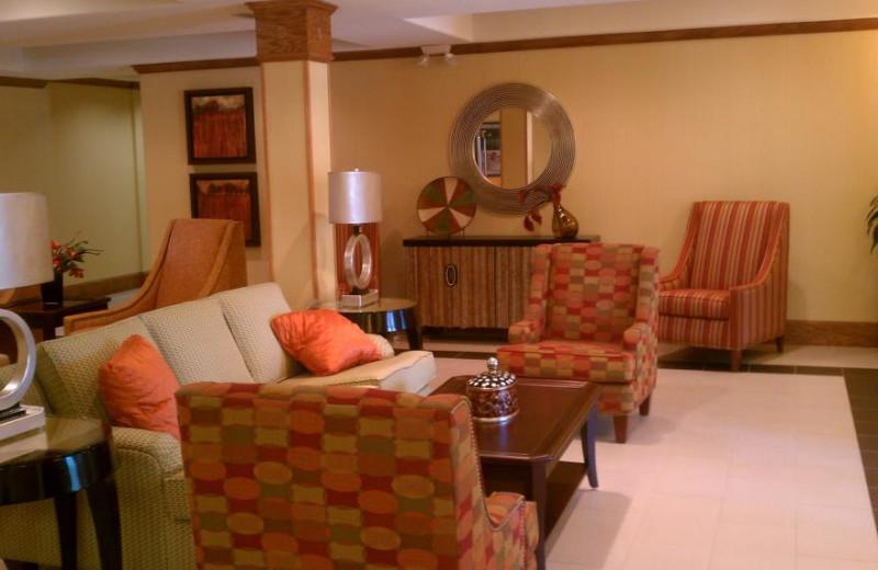 Lobby at Homewood Suites Houston-Woodlands