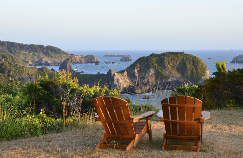 Scenic view at Redwood Coast Vacation Rentals