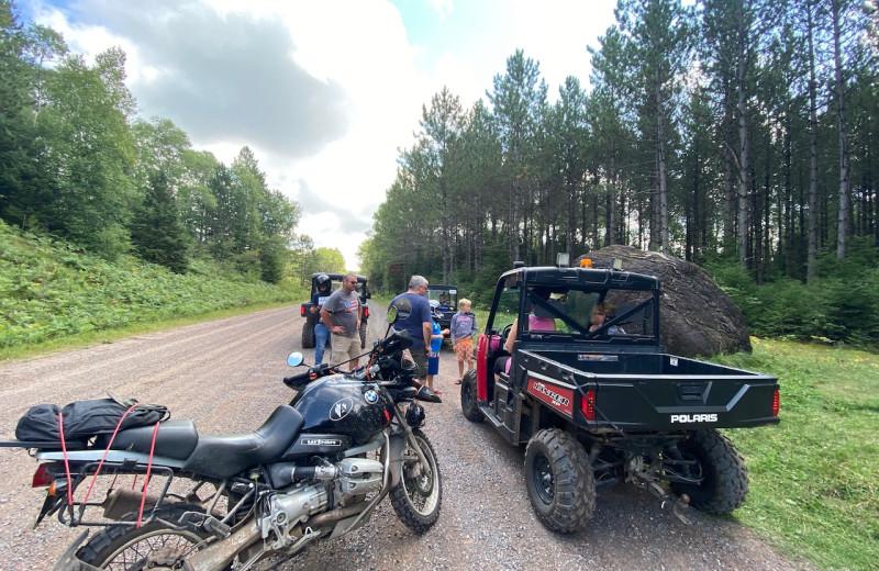 ATV at Lakewoods Resort.