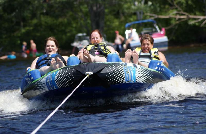 Water Fun at Nelson Lake Lodge