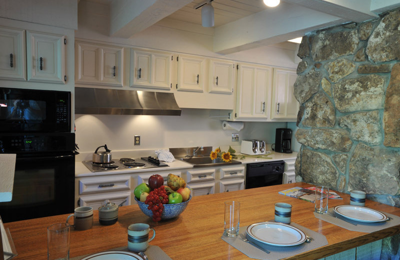 Rental kitchen at Frias Properties of Aspen - Chateau Roaring Fork #14.