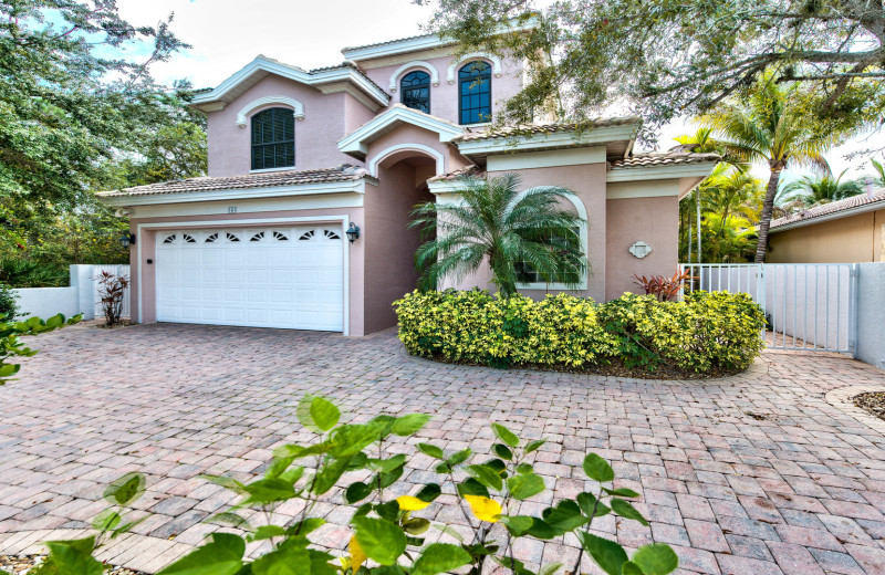 Rental exterior at Naples Florida Vacation Homes.