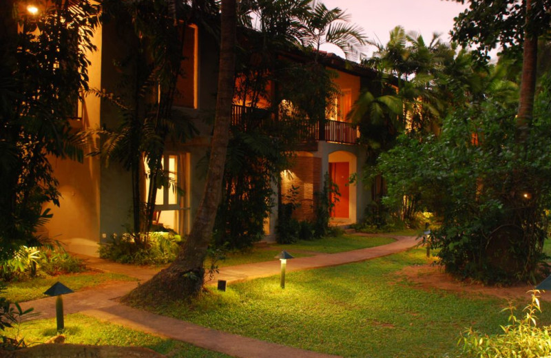 Exterior view of Jetwing Tropical Villas.