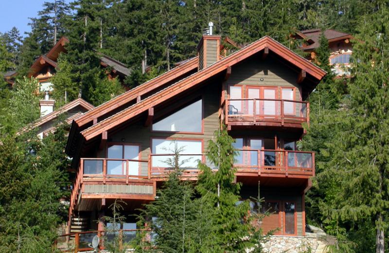 Exterior view of ResortQuest Whistler.