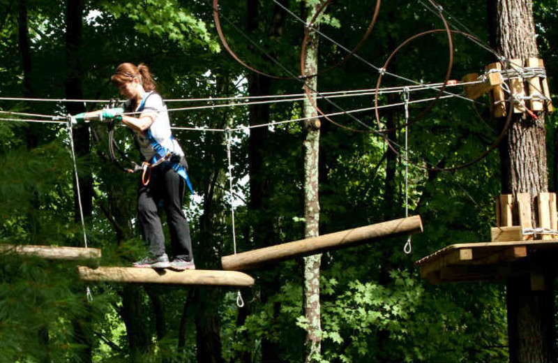 Pocono TreeVentures at Fernwood Resort.