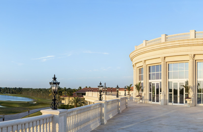 Crystal Ballroom Terrace at Trump National Doral