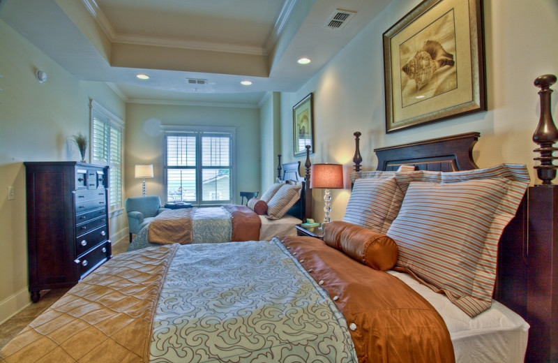 Guest bedroom at Sea Gate Inn.
