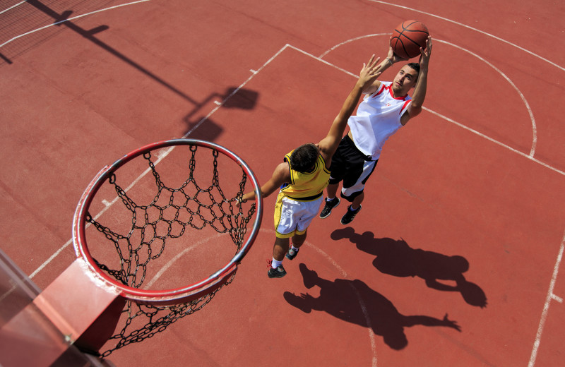 Basketball court at Westgate Branson Woods Resort.