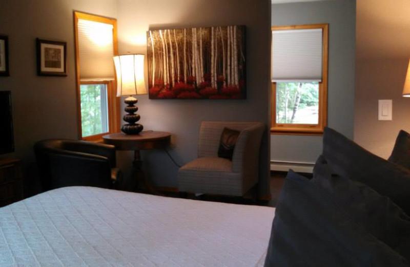 Cabin interior at Hidden Valley Inn & Resort.