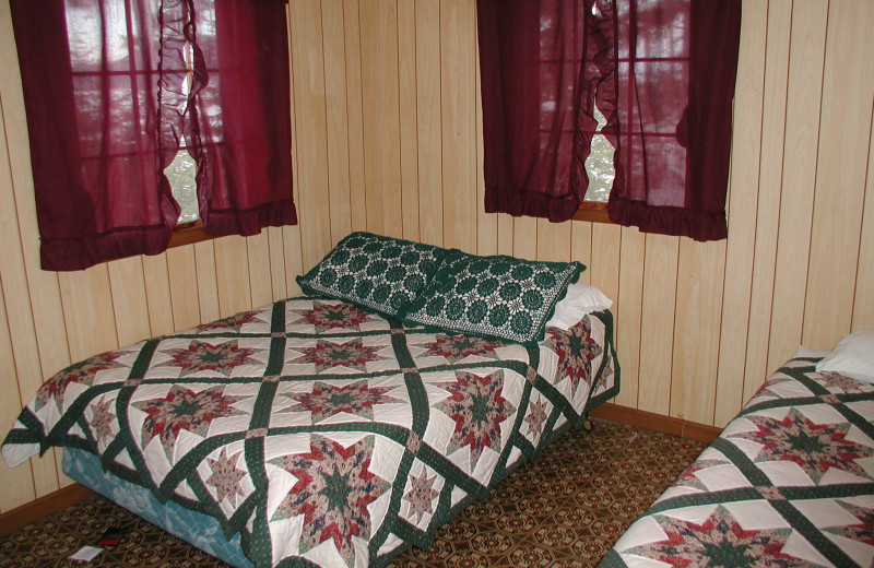 Bedroom at The Birches Resort