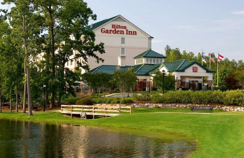 Exterior view of Hilton Garden Inn Columbus.